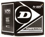 Dunlop Competition (1kropka) - 1szt squash ball